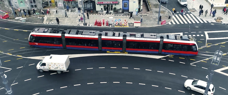 Novi tramvaji na Slaviji