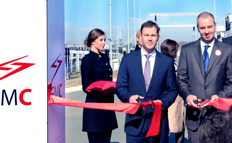 Gradonačelnik Siniša Mali na otvaranju postrojenja EMS