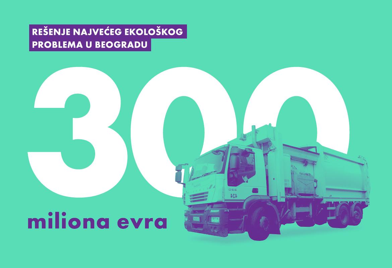 Rešenje najvećeg ekološkog problema u Beogradu